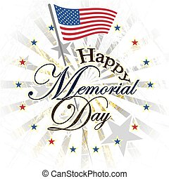 Happy memorial day USA
