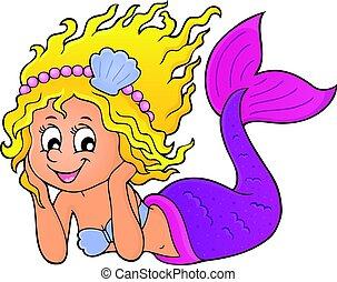 Happy mermaid theme 1