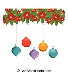 happy merry christmas frame card