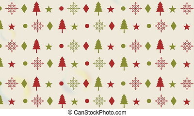 happy merry christmas pattern background ,hd video animation
