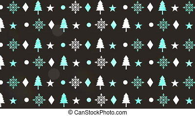 happy merry christmas pattern background