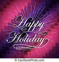 happy merry christmas snowflake background