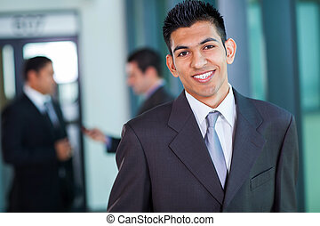 modern middle eastern businessman - happy modern middle...