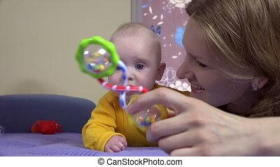 happy mom baby toy