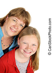 Happy Mother & Daughter
