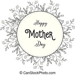 Happy mother day beautiful background card