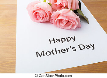 Happy mother day concept