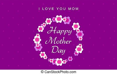 Happy mother day style background