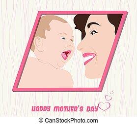Happy Mothers Day celebration
