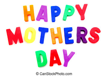 Happy Mothers Day magnetic letters