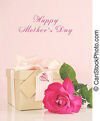 Happy Mothers Day Pink Gift