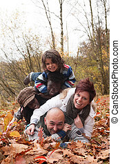 Happy multiracial family - Happy family with foster children...