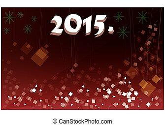 Happy New 2015. postcard