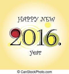 Happy New 2016. Year
