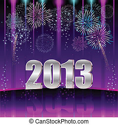 Happy New Year 2013 - Happy New Year, Illustration vector ...