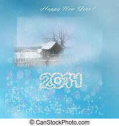 Happy New Year 2014 background imag