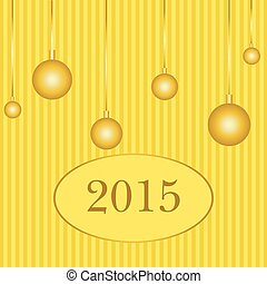 happy new year 2015  background (vector)