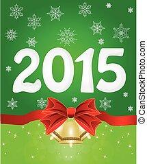 happy new year, 2015, od, sněžit