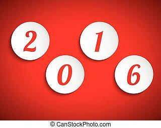Happy new year 2015, vector design element