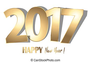 happy new year 2017 greetings background