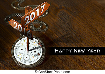 Happy New Year 2017 - Watch with Signs