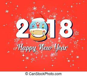 Happy new year 2018