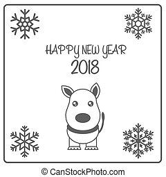 Happy New Year 2018 Chinese Greetings Of The Dog Fortune Translation Rich