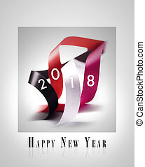 Happy New Year 2018 - Greeting Card - Happy New Year 2018