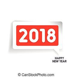 happy new year, 2018