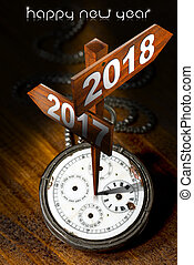 Happy New Year 2018 - Watch with Signs