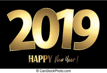 happy new year 2019 greetings background - happy new year...