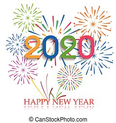 Happy new year 2020 Illustrations and Stock Art. 1,564 ...