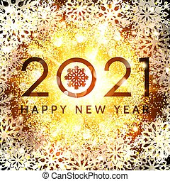 2021 happy new year card. christmas decoration. luxury ...