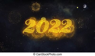 Happy New Year 2022 Text Wishes Reveal From Firework...