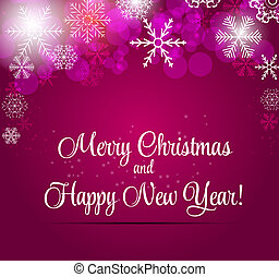 Happy New Year and Marry Christmas Background.