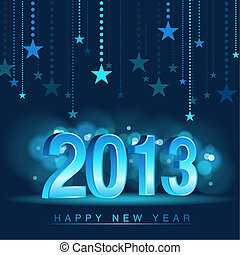 Happy New Year - Background Illustration, Vector