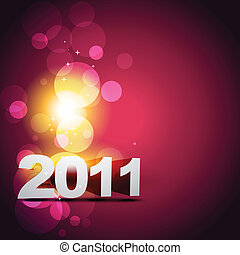 happy new year beautiful vector design