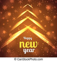 Happy New Year Bright Poster