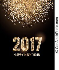 Happy New Year Card - New Year greeting card