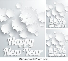 Happy New Year discount percent