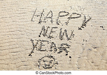 Happy New Year from the Beach