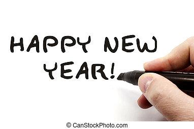 Happy New Year Hand