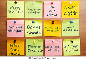 Happy new year in 12 languages