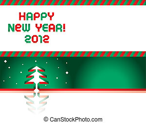Happy new Year - Paper Tape Font