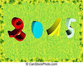 Happy new year, symbol