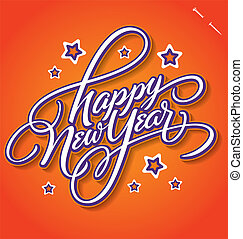HAPPY NEW YEAR (vector)