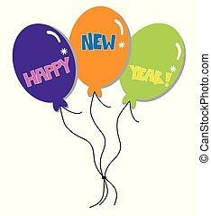 Happy New Years Balloons