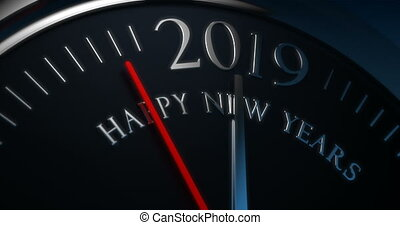 Happy new years - Count down to new year 2019
