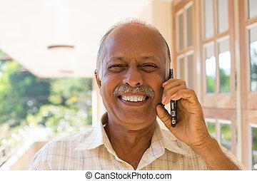 Happy news on phone