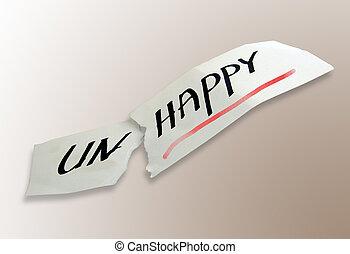 happy not happy